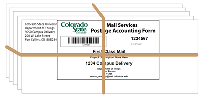 CSU Mail Services Postage Accounting Form | Departments of Central ...